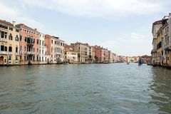 The Grand Canal, Venice, Italy Stock Photos