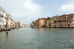 The Grand Canal, Venice, Italy Royalty Free Stock Image