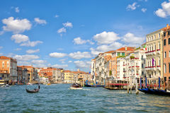 Grand Canal in Venice royalty free stock photo