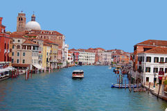Grand Canal Venice Italy Stock Image