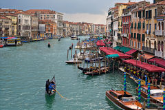 Grand Canal Venice Italy Royalty Free Stock Photography