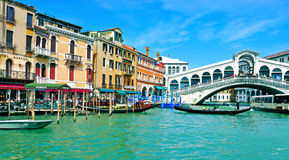 The Grand Canal in Venice, Italy Royalty Free Stock Images