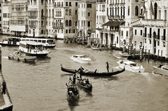 The Grand Canal in Venice, Italy Royalty Free Stock Image