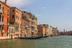 The Grand Canal in Venice - Italy Royalty Free Stock Photography