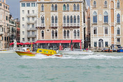 Grand Canal in Venice Italy Royalty Free Stock Images