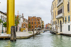 Grand Canal in Venice Italy Stock Photos