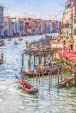Grand Canal, Venice, Italy Stock Photos