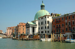 The Grand Canal in Venice Italy Royalty Free Stock Photos