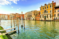 Grand Canal, Venice, Italy. Grand Canal during day time, Venice, Italy Stock Images
