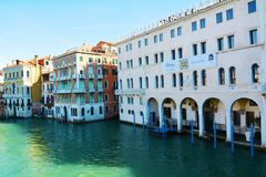 Grand Canal, Venice, Italy, Europe Stock Photography