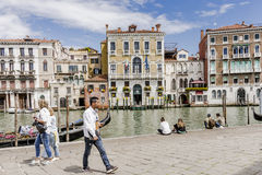 Grand Canal in Venice , Italy Stock Photography