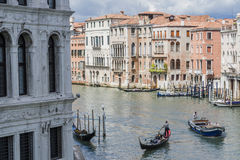 Grand Canal in Venice Italy Royalty Free Stock Image
