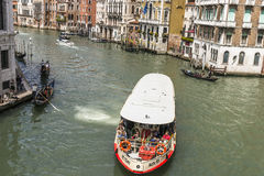 Grand Canal in Venice , Italy Stock Images