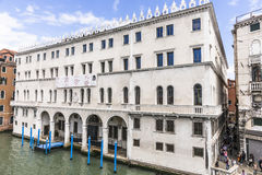 Grand Canal in Venice , Italy Royalty Free Stock Images