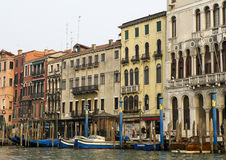 The Grand Canal in Venice, Italy. Royalty Free Stock Images