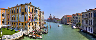 Grand Canal in Venice, Italy. HDR image. Stock Photos