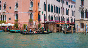 Grand Canal in Venice Italy Stock Photography