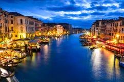 Grand Canal, Venice, Italy Royalty Free Stock Photos