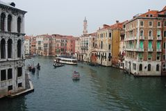 Grand Canal in Venice. Stock Photography