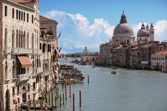 Grand Canal Venice, Italy Royalty Free Stock Photos