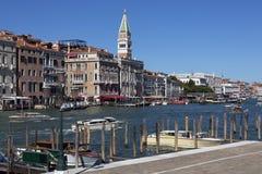 Grand Canal - Venice - Italy Stock Photo