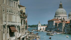 Grand Canal Venice Italy stock footage