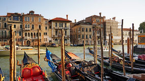 Grand Canal in Venice Italy Stock Images