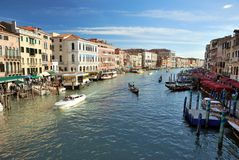 Grand Canal in Venice, Italy Stock Photo