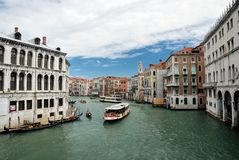Grand Canal in Venice, Italy Stock Image