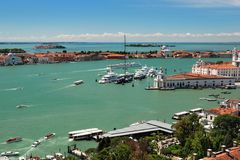 Grand Canal in Venice, Italy Stock Photography