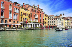 The Grand Canal in Venice, Italy Stock Image