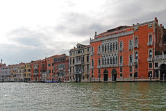 Grand Canal in Venice, Italy. View of the Grand Canal in Venice, Italy Stock Image