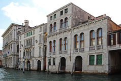 Grand Canal in Venice, Italy. View of the Grand Canal in Venice, Italy Royalty Free Stock Photos