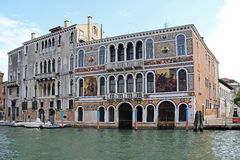 Grand Canal in Venice, Italy. View of the Grand Canal in Venice, Italy Royalty Free Stock Image