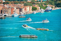 Grand Canal in Venice, Italy. Stock Image