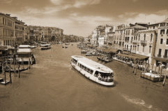 The Grand canal Stock Image