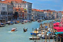 The Grand canal Royalty Free Stock Photo