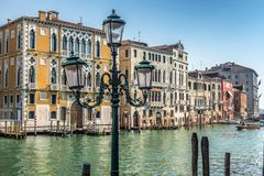 The Grand Canal in Venice royalty free stock photo