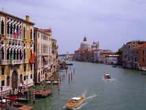 Grand Canal, Venice. The Grand Canal - the most famous canal in Venice Royalty Free Stock Photography