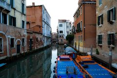 Grand canal of Venice stock photo