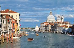 Grand Canal at Academia Royalty Free Stock Images