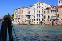 Grand Canal, Venice. Photo made in September, 2014 Stock Images