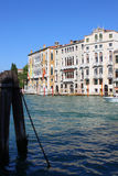 Grand Canal, Venice. Photo made in September, 2014 Royalty Free Stock Photography