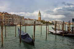 Grand Canal in Venice after storm Royalty Free Stock Photography