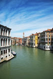 Grand Canal. Venice Street in the afternoon. Italy. Stock Photography