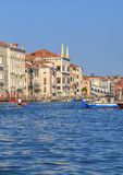 Grand Canal in Venice, sunny day Stock Photo