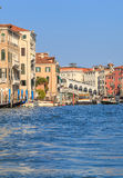 Grand Canal in Venice, sunny day Stock Images