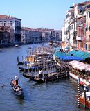The Grand Canal, Venice. Stock Photos