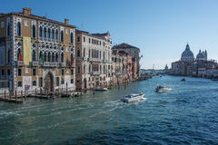 The grand canal venice veneto italy europe Stock Images