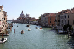 Grand Canal, Venice. View from bridge Royalty Free Stock Photos
